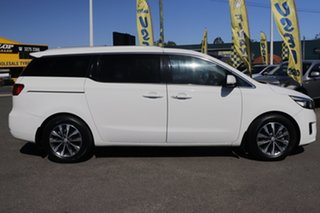 2015 Kia Carnival YP MY16 SLi Clear White 6 Speed Sports Automatic Wagon