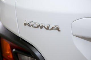 2017 Hyundai Kona OS MY18 Active D-CT AWD White 7 Speed Sports Automatic Dual Clutch Wagon