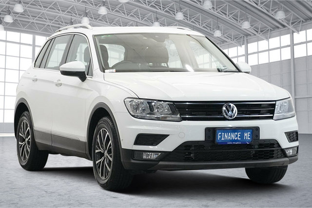 Used Volkswagen Tiguan 5N MY18 110TSI DSG 2WD Comfortline Victoria Park, 2017 Volkswagen Tiguan 5N MY18 110TSI DSG 2WD Comfortline White 6 Speed Sports Automatic Dual Clutch