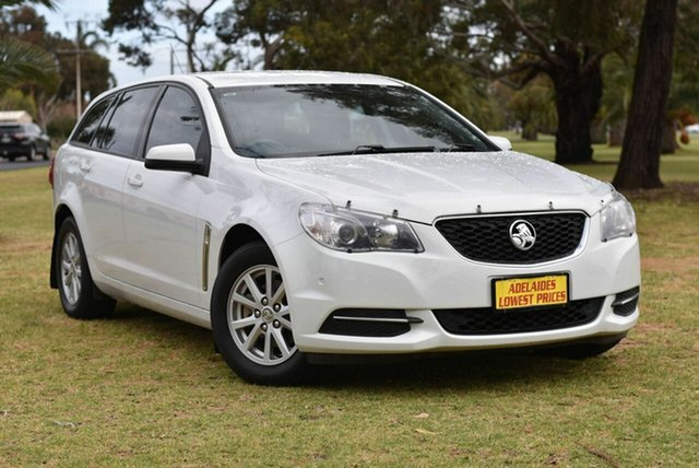 Used Holden Commodore VF II MY16 Evoke Sportwagon Cheltenham, 2016 Holden Commodore VF II MY16 Evoke Sportwagon White 6 Speed Sports Automatic Wagon