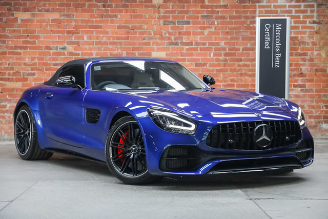 Certified Pre-Owned Mercedes-Benz AMG GT R190 809MY C SPEEDSHIFT DCT Mulgrave, 2019 Mercedes-Benz AMG GT R190 809MY C SPEEDSHIFT DCT Blue 7 Speed Sports Automatic Dual Clutch