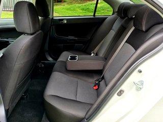 2009 Mitsubishi Lancer CJ MY09 VR-X White 5 Speed Manual Sedan