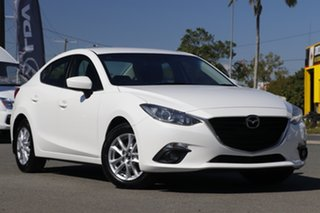 2016 Mazda 3 BM5278 Maxx SKYACTIV-Drive Snowflake White Pearl 6 Speed Sports Automatic Sedan.