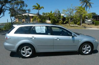 2005 Mazda 6 GY1032 Classic Silver 5 Speed Automatic Wagon.