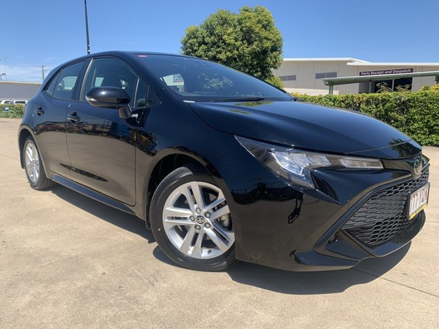 Used Toyota Corolla ZRE182R Ascent Sport S-CVT Townsville, 2018 Toyota Corolla ZRE182R Ascent Sport S-CVT Black 7 Speed Constant Variable Hatchback