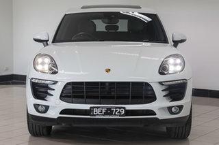2014 Porsche Macan 95B MY15 S PDK AWD Diesel White 7 Speed Sports Automatic Dual Clutch Wagon