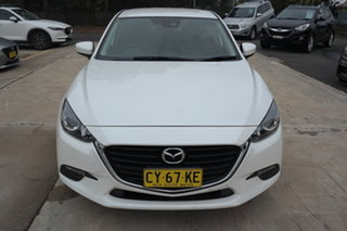 2016 Mazda 3 BN5278 Neo SKYACTIV-Drive White 6 Speed Sports Automatic Sedan.