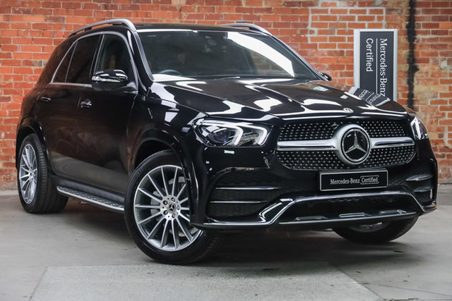 Certified Pre-Owned Mercedes-Benz GLE-Class V167 801+051MY GLE300 d 9G-Tronic 4MATIC Mulgrave, 2021 Mercedes-Benz GLE-Class V167 801+051MY GLE300 d 9G-Tronic 4MATIC Obsidian Black Metallic