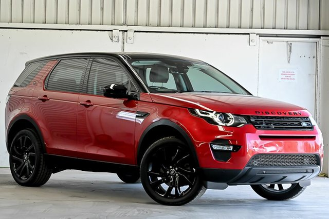Used Land Rover Discovery Sport L550 16.5MY HSE Laverton North, 2016 Land Rover Discovery Sport L550 16.5MY HSE Red 9 Speed Sports Automatic Wagon