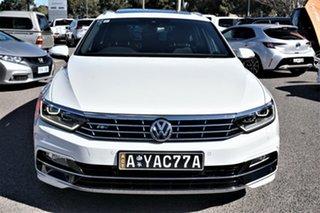 2017 Volkswagen Passat 3C (B8) MY18 132TSI DSG Comfortline Pure White 7 Speed.