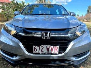 2016 Honda HR-V MY16 VTi Lunar Silver 1 Speed Constant Variable Hatchback.