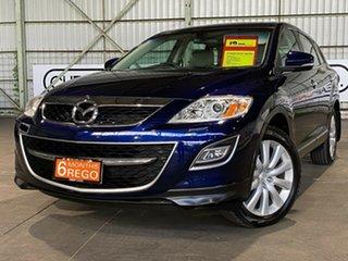 2010 Mazda CX-9 TB10A3 MY10 Grand Touring Blue 6 Speed Sports Automatic Wagon.