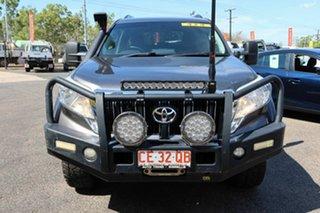 2016 Toyota Landcruiser Prado GDJ150R GXL Black 6 Speed Sports Automatic Wagon.