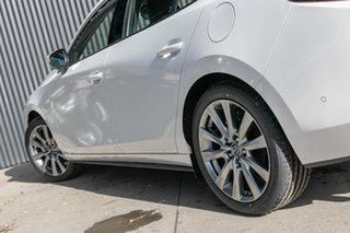 2021 Mazda 3 BP2SLA G25 SKYACTIV-Drive Astina Snowflake White Pearl 6 Speed Sports Automatic Sedan