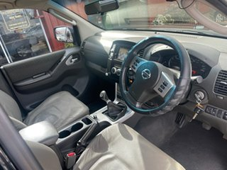 2013 Nissan Navara D40 S6 MY12 ST 6 Speed Manual Utility