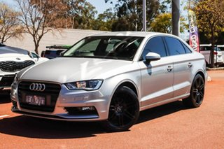 2015 Audi A3 8V MY15 Ambition S Tronic Silver 7 Speed Sports Automatic Dual Clutch Sedan.