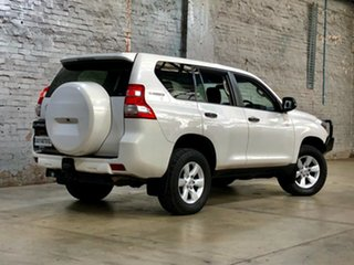 2013 Toyota Landcruiser Prado KDJ150R MY14 GX White 5 Speed Sports Automatic Wagon