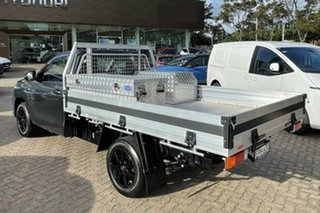 2019 Toyota Hilux TGN121R MY19 Upgrade Workmate Grey 6 Speed Automatic Cab Chassis