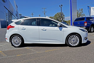2017 Ford Focus LZ Sport White 6 Speed Automatic Hatchback