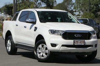 2020 Ford Ranger PX MkIII 2021.25MY XLT Hi-Rider Arctic White 6 Speed Sports Automatic.