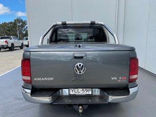 2017 Volkswagen Amarok 2H MY17 TDI550 4MOTION Perm Highline Grey 8 Speed Automatic Utility