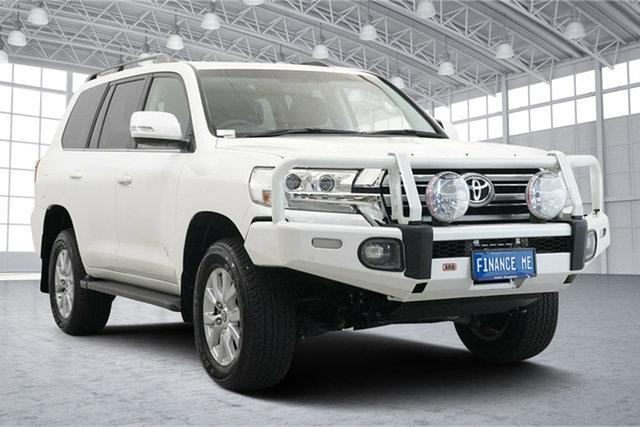 Used Toyota Landcruiser VDJ200R VX Victoria Park, 2016 Toyota Landcruiser VDJ200R VX White 6 Speed Sports Automatic Wagon
