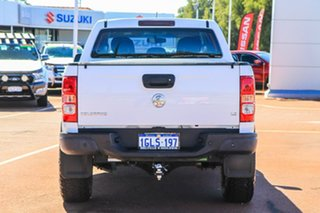 2017 Holden Colorado RG MY18 LS Pickup Crew Cab White 6 Speed Sports Automatic Utility