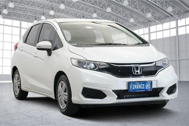 Used Honda Jazz GF MY18 VTi Victoria Park, 2018 Honda Jazz GF MY18 VTi White 1 Speed Constant Variable Hatchback