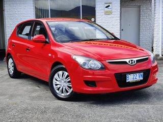 2010 Hyundai i30 FD MY10 SX Shine Red 4 Speed Automatic Hatchback.