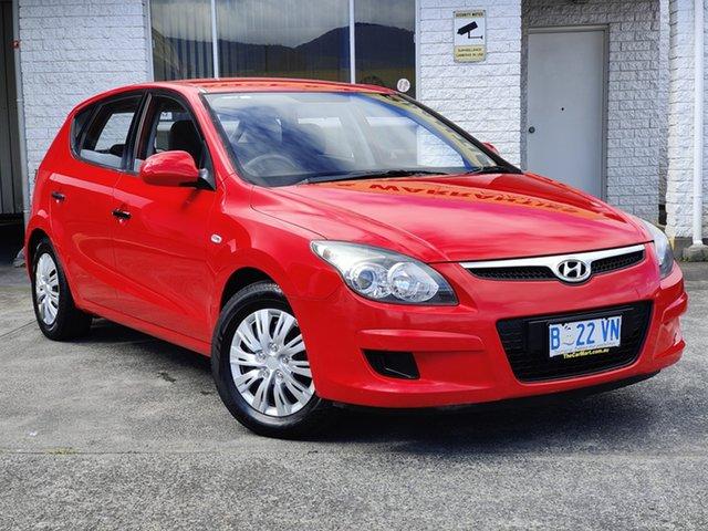Used Hyundai i30 FD MY10 SX Derwent Park, 2010 Hyundai i30 FD MY10 SX Shine Red 4 Speed Automatic Hatchback