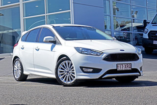 2017 Ford Focus LZ Sport White 6 Speed Automatic Hatchback.