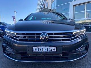 2021 Volkswagen Passat 3C (B8) MY21 162TSI DSG Elegance Manganese Grey Metallic 6 Speed.