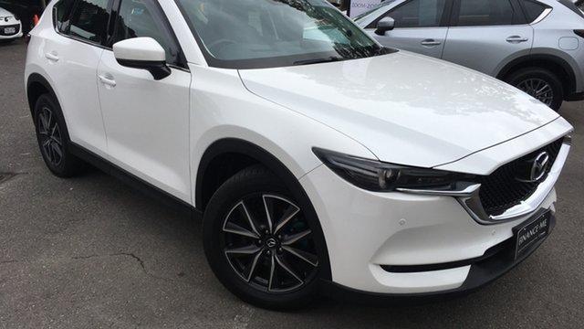 Used Mazda CX-5 KF4W2A GT SKYACTIV-Drive i-ACTIV AWD Paradise, 2018 Mazda CX-5 KF4W2A GT SKYACTIV-Drive i-ACTIV AWD White 6 Speed Sports Automatic Wagon