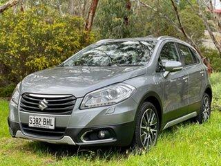 2014 Suzuki SX4 GYA MY13 Crossover S Silver 6 Speed Constant Variable Hatchback.