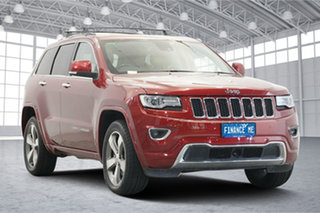2013 Jeep Grand Cherokee WK MY2014 Overland Red 8 Speed Sports Automatic Wagon.