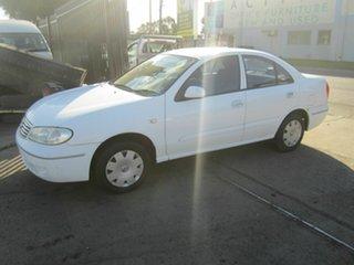 2003 Nissan Pulsar N16 LX White 4 Speed Automatic Sedan