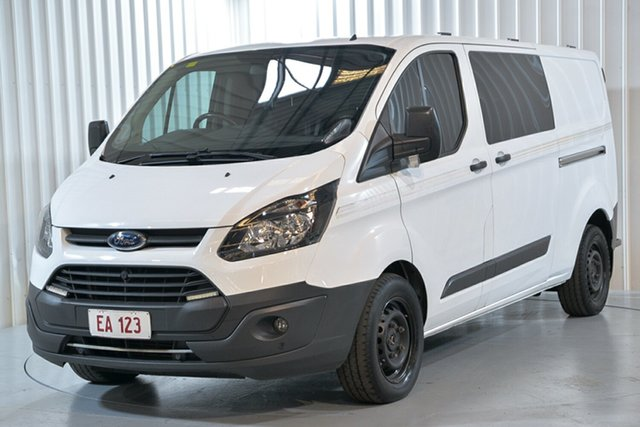 Used Ford Transit Custom VN 340L (Low Roof) Hendra, 2017 Ford Transit Custom VN 340L (Low Roof) Blue 6 Speed Automatic Van