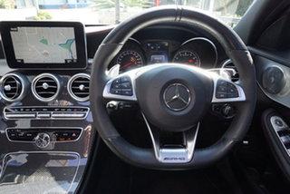 2016 Mercedes-Benz C-Class W205 C43 AMG Selenite Grey 9 Speed Sports Automatic Sedan