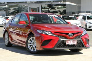 2018 Toyota Camry ASV70R Ascent Sport Emotional Red 6 Speed Sports Automatic Sedan.