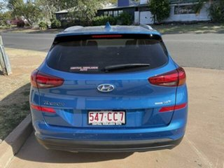 2020 Hyundai Tucson Aqua Blue DCT-7SPEED 4WD TUCSON (TL) 5 Seater Wagon