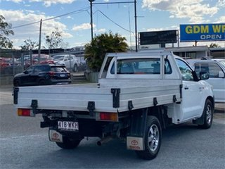 2012 Toyota Hilux TGN16R Workmate White 5 Speed Manual Cab Chassis