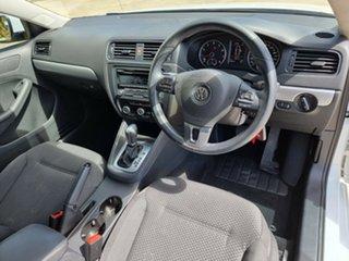 2014 Volkswagen Jetta 1B MY15 118TSI DSG Trendline Pure White 7 Speed Sports Automatic Dual Clutch.