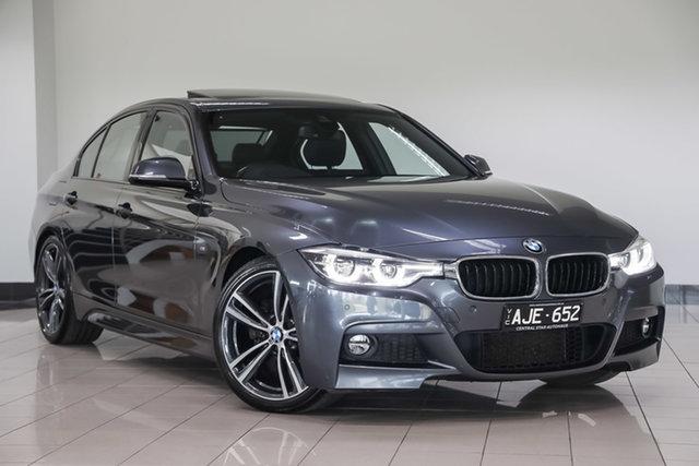 Used BMW 3 Series F30 LCI 330i M Sport , 2016 BMW 3 Series F30 LCI 330i M Sport Grey 8 Speed Sports Automatic Sedan