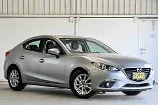 2016 Mazda 3 BM5278 Touring SKYACTIV-Drive Silver 6 Speed Sports Automatic Sedan.