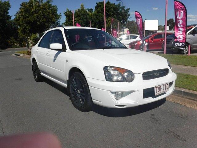 Used Subaru Impreza S GX Margate, 2005 Subaru Impreza S GX White 4 Speed Automatic Hatchback