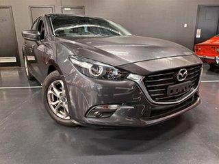 2017 Mazda 3 BN5478 Maxx SKYACTIV-Drive Metallic Grey 6 Speed Sports Automatic Hatchback.