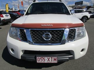 2011 Nissan Navara D40 MY11 ST-X White 6 Speed Manual Utility