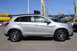 2017 Mitsubishi ASX XC MY18 LS 2WD Sterling Silver 1 Speed Constant Variable Wagon