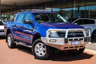 2013 Ford Ranger PX XL Blue 6 Speed Manual Utility.