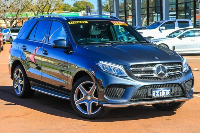 Used Mercedes-Benz GLE-Class W166 807MY GLE350 d 9G-Tronic 4MATIC Attadale, 2016 Mercedes-Benz GLE-Class W166 807MY GLE350 d 9G-Tronic 4MATIC Grey 9 Speed Sports Automatic